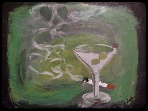 Martini Painting