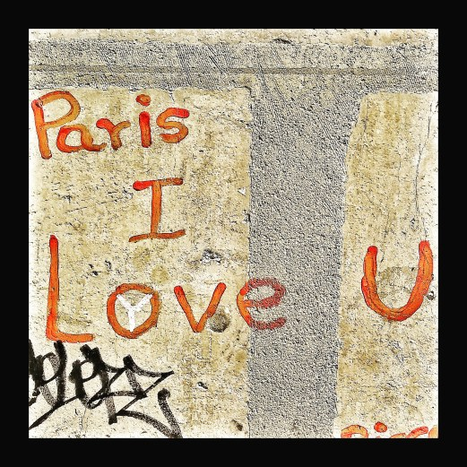Paris I love u